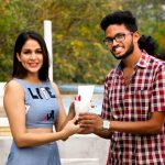 Lavanya Tripathi, with fans, telugu, tamil actress