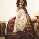 Maalavika Sundar, kerala saree