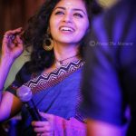 Maalavika Sundar, mic, smile, teeth