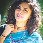 Maalavika Sundar, new hair style