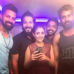 Madhu Shalini, Pancharakhsharam Heroine, frnd gang, boys
