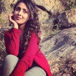 Madhu Shalini, Pancharakhsharam Heroine, red dress, dressy