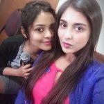 Madhu Shalini, selfie, friend