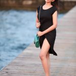 Madhu Shalini, unseen photo shoot, black dress