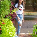 Madhu Shalini, unseen photo shoot, white t shirt, exclusive
