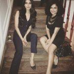 Malavika Mohanan, girls, black dress, actress