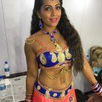 Meghna Naidu, Dharma Prabhu Heroine, dressing room, makeup room