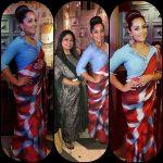 Meghna Naidu, Dharma Prabhu Heroine, saree