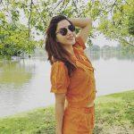 Mehrene Kaur Pirzada, high quality, hd, wallpaper, cute, Kavacham