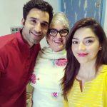 Mehrene Kaur Pirzada, selfie, family, tollywood