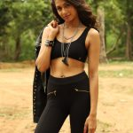 Miya Rai Leone, Ivanukku Engeyo Macham Irukku Actress, Tamil debut, black dress