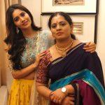 Nabha Natesh, Adhugo Actress, mother
