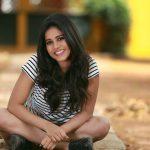 Nabha Natesh, Adhugo Actress, sitting, winsome