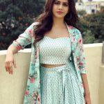 Nabha Natesh, modern dress