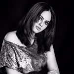 Nandita Swetha, Akshara Heroine, black and white, photo shoot