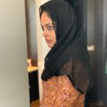 Nandita Swetha, muslim dress