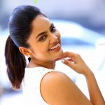 Nandita Swetha, smile, side pose