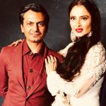 Nawazuddin Siddiqui, Sacred Games, red dress, old actress