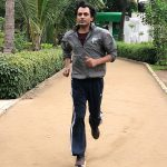 Nawazuddin Siddiqui, jogging