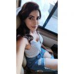 Nikki Tamboli, Dharma Prabu Actress, selfie, car, top view