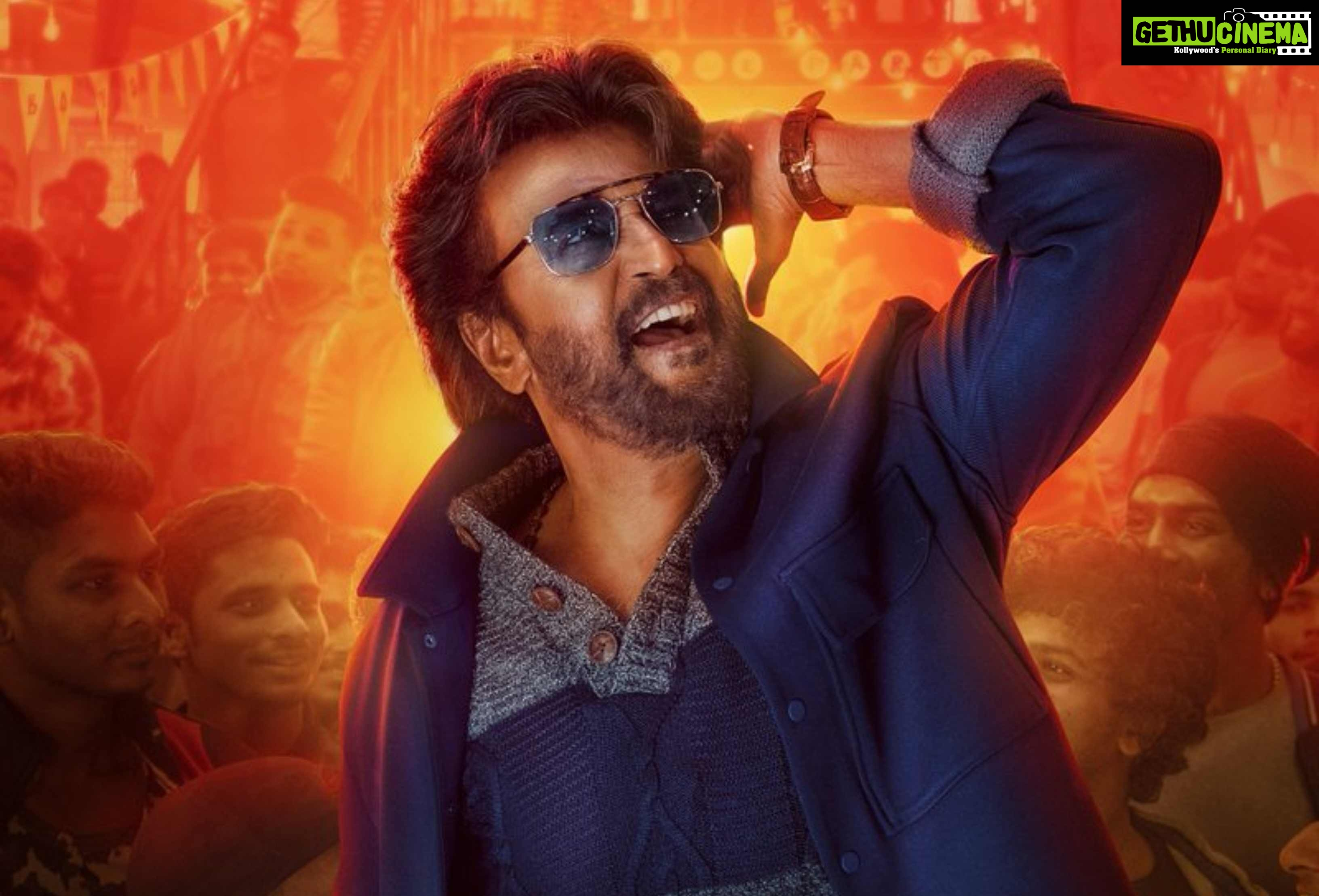 Petta 1st single, 4th look, Rajiniknath (1)