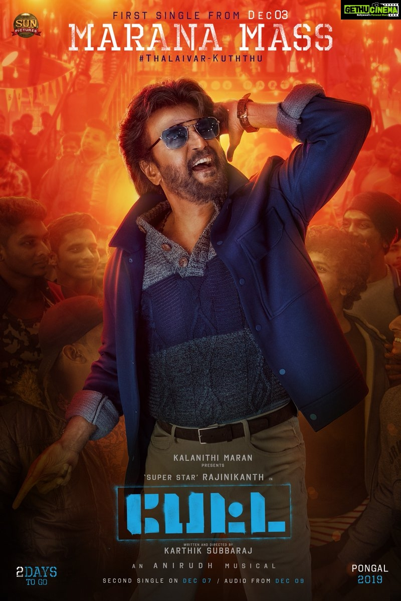 Petta 1st single, 4th look, Rajiniknath (2)