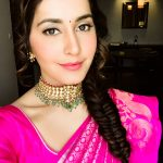 Raashi Khanna, saree, selfie, wallpaper, dress