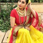 Ragini Dwivedi, I don't know Heroine, punjab saree, glamour