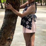 Ragini Dwivedi, Kannada Actress, tree, outing