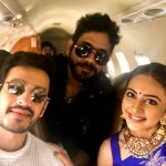 Rakul Preet Singh, Akkineni Akhil, nagarjuna, selfie