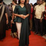 Ramya Pandiyan, sandakozhi 2, press show, event