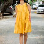 Regina Cassandra, smile, yellow dress, actress life