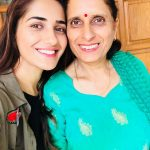 Ruhani Sharma, mom, selfie