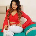 Sakshi Agarwal, red dress, unseen