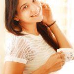 Sakshi Agarwal, white dress, coffee