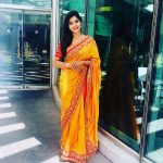 Sanchita Shetty, full size, hd, saree, actress