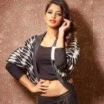 Sanchita Shetty, glamour, photoshoot, black dress, party movie