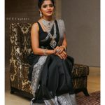 Sanchita Shetty, instagram, saree, traditional look, Johnny