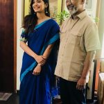 Sanchita Shetty, mani rathnam, director, saree