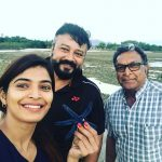 Sanchita Shetty, nassar, jayam ram, party, selfie