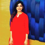 Sanchita Shetty, red dress, hd, colourful, party