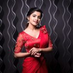 Sanchita Shetty, wallpaper, hd, saree, party