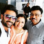Shanthanu Bhagyaraj, Poornima, father, mom, amma, family