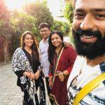 Shanthanu Bhagyaraj, family, kiki vijay, vacation