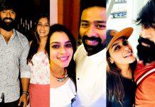 Shanthanu, Keerthi Shanthanu, 2018, hd, wallpaper, family, collage