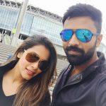 Shanthanu, Keerthi Shanthanu, cooling glass, selfie, actor life