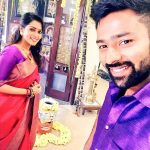 Shanthanu, Keerthi Shanthanu, home, pongal, festival, selfie