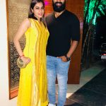 Shanthanu, Keerthi Shanthanu, yellow, beard, tamil actress