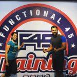 Shanthanu, gym, fitness, f45, workout