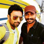 Shanthanu, selfie, circket, coach